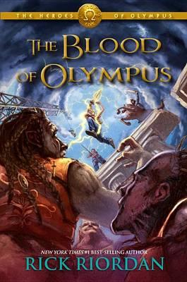 Blood of Olympus book
