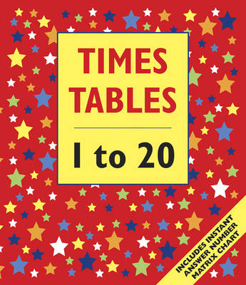 Times Tables - 1 to 20 (Giant Size) by Armadillo