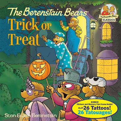 The Berenstain Bears Trick Or Treat (Deluxe Edition) by Stan Berenstain