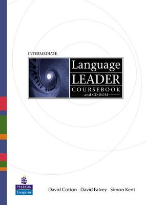 Language Leader Intermediate Coursebook for Pack by David Cotton