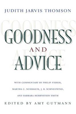 Goodness and Advice book