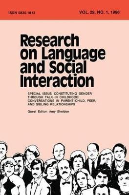 Constituting Gender Through Talk in Childhood book