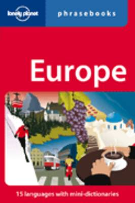 Lonely Planet Europe Phrasebook by Lonely Planet
