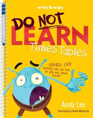Do Not Open Learn Times Tables book