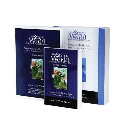 Story of the World, Vol. 2 Bundle: History for the Classical Child: The Middle Ages; Text, Activity Book, and Test & Answer Key by Susan Wise Bauer