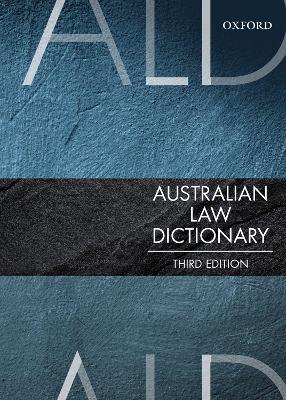 Australian Law Dictionary book