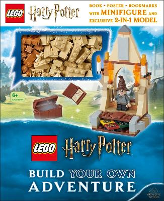 LEGO Harry Potter Build Your Own Adventure: With LEGO Harry Potter Minifigure and Exclusive Model book