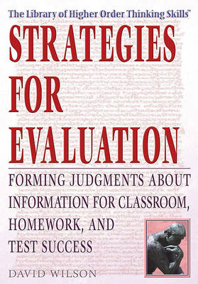 Strategies for Evaluation: by David Wilson