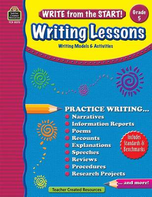 Writing Lessons, Grade 5 by Kristine Brown