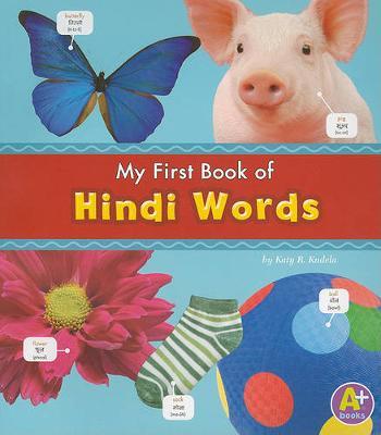 MyFirst Book of Hindi Words by Katy R. Kudela