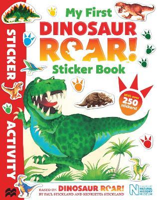 My First Dinosaur Roar! Sticker Book by Jeanne Willis