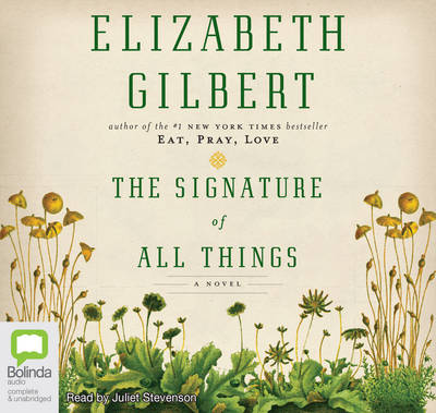 Signature Of All Things book