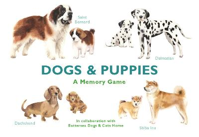 Dogs & Puppies: A Memory Game by Marcel George