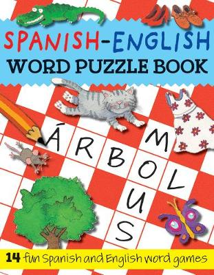 Spanish-English Word Puzzle Book book