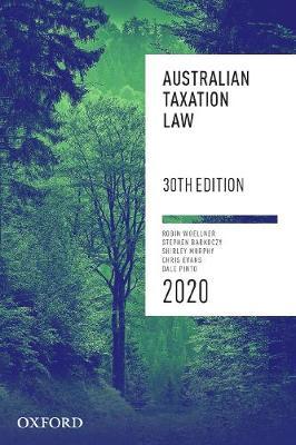 Australian Taxation Law 2020 by Robin Woellner