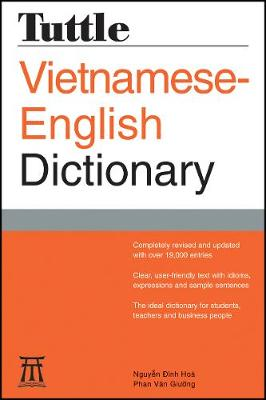 Tuttle Vietnamese-English Dictionary by Nguyen Dinh-Hoa
