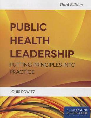 Public Health Leadership by Louis Rowitz