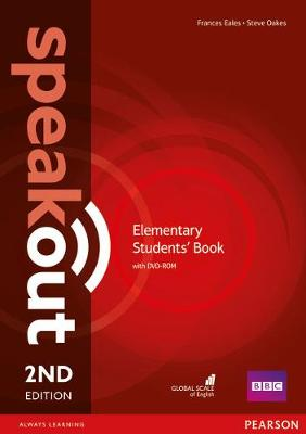 Speakout Elementary 2nd Edition Students' Book for DVD-ROM Pack by Frances Eales