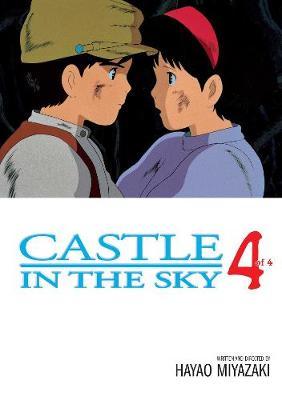 Castle In The Sky, Vol. 4 by Hayao Miyazaki