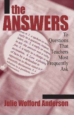 The Answers by Julie Wofford Anderson