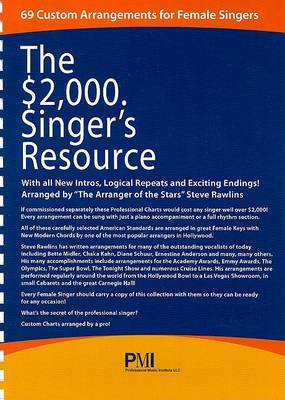 $2,000. Singer's Resource by John L Haag