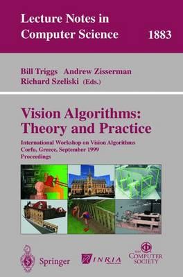 Vision Algorithms: Theory and Practice by Bill Triggs