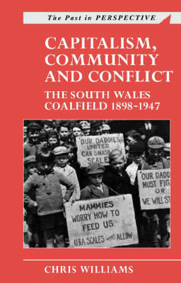 Capitalism, Community and Conflict: The South Wales Coalfield, 1898-1947 by Chris Williams