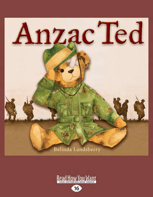 Anzac Ted by Belinda Landsberry