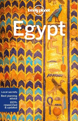 Lonely Planet Egypt book