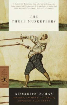 Mod Lib The Three Musketeers book