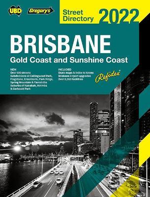 Brisbane Refidex Street Directory 2022 66th book