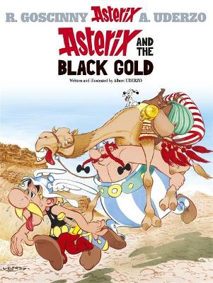 Asterix: Asterix and the Black Gold book