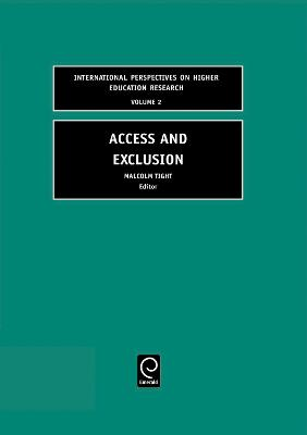 Access and Exclusion by Malcolm Tight