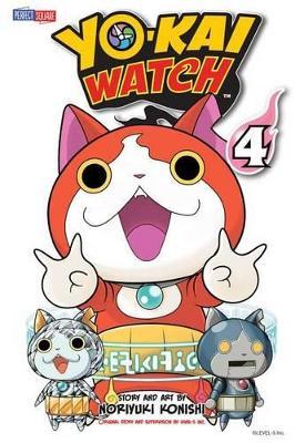 YO-KAI WATCH, Vol. 4 by Noriyuki Konishi