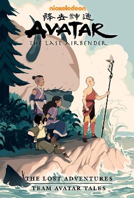 Avatar: The Last Airbender - The Lost Adventures And Team Avatar Tales by Joaquim Dos Santos