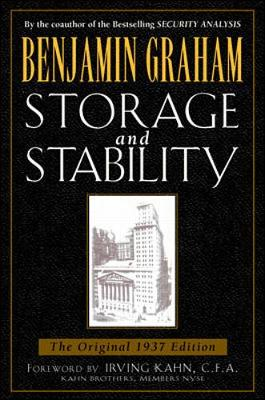 Storage and Stability by Benjamin Graham