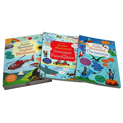 Usborne English Dictionary Boxset English for Writers Collection book