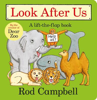 Look After Us book