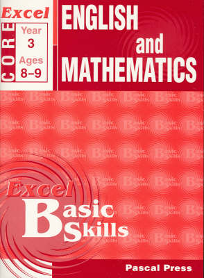 Excel Basic Skills Homework Books: Year 3 Core Book: Year 3 book