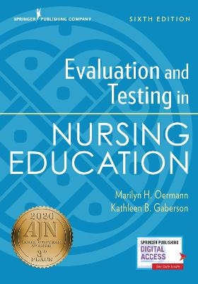 Evaluation and Testing in Nursing Education book