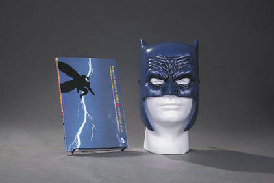 Dark Knight Returns Book & Mask Set by Frank Miller