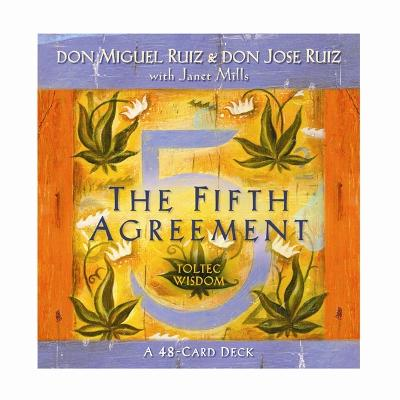 The Fifth Agreement Cards by don Jose Ruiz