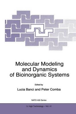 Molecular Modeling and Dynamics of Bioinorganic Systems by Lucia Banci