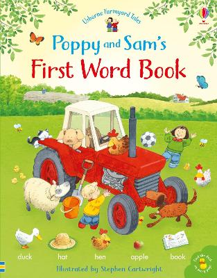 Poppy and Sam's First Word Book by Heather Amery