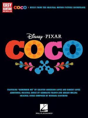 Disney Pixar's Coco For Easy Guitar book