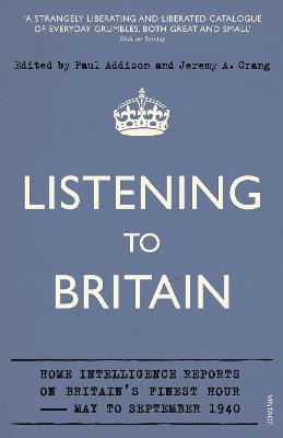 Listening to Britain by Jeremy A Crang