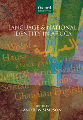 Language and National Identity in Africa by Andrew Simpson