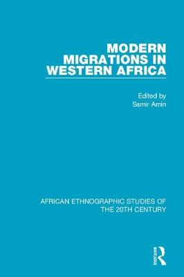 Modern Migrations in Western Africa book