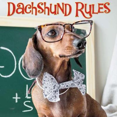 Dachshund Rules book