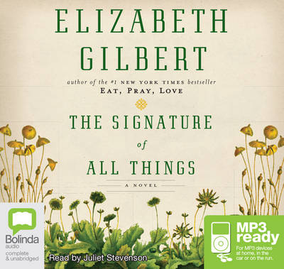 Signature Of All Things by Elizabeth Gilbert